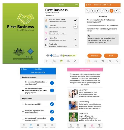 First Business App